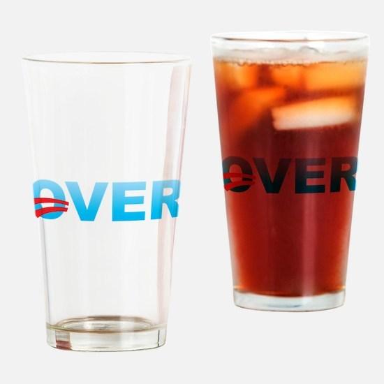 Barack Obama is Over Drinking Glass