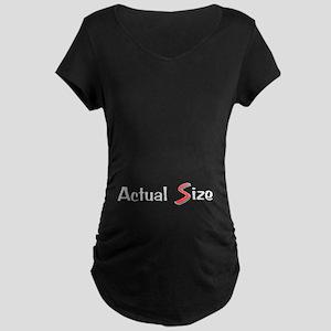 Actual Size Maternity Dark T-Shirt