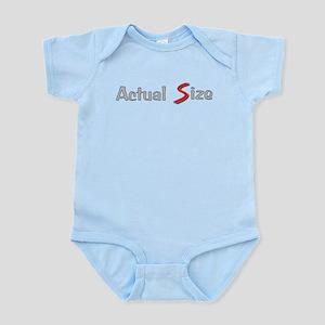 Actual Size Infant Bodysuit