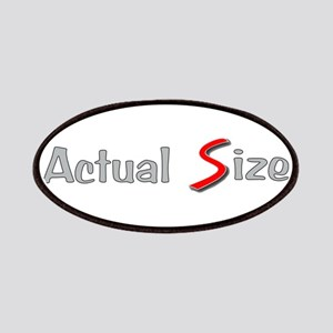 Actual Size Patches