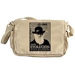 Viva Darwin Evolucion Messenger Bag