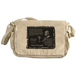Foucault's Critique Messenger Bag
