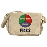 Good, Fast, Cheap Messenger Bag
