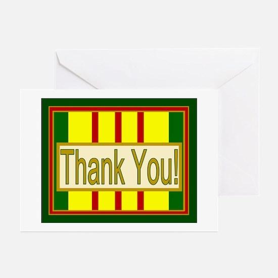 Vietnam Veteran Thank You Greeting Cards