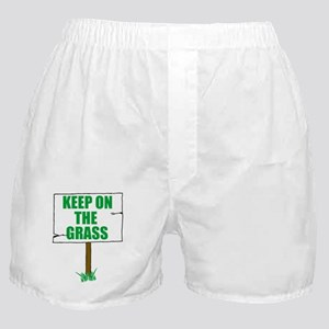 Keep On The Grass Boxer Shorts