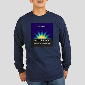 Solstice Long Sleeve Dark T-Shirt