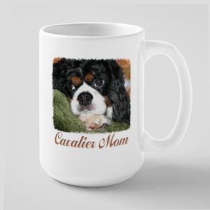 Cavalier Mom Large Mug