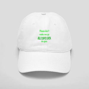 ALL CAPS LOCK Cap