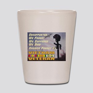 Unsupported Vet Shot Glass