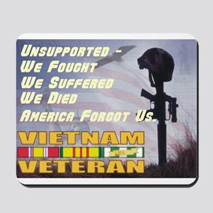 Unsupported Vet Mousepad