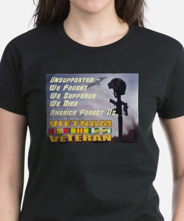 Unsupported Vet Women's Dark T-Shirt