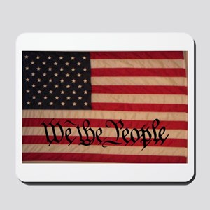 WE THE PEOPLE WITH FLAG OF FR Mousepad