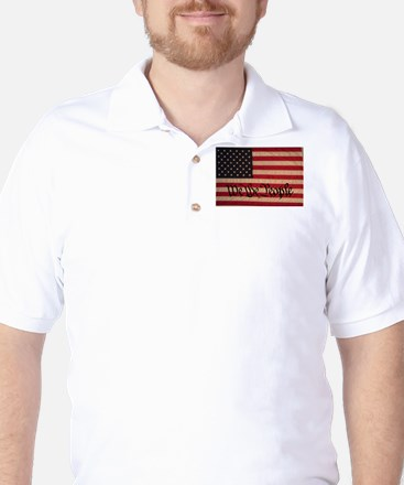 WE THE PEOPLE WITH FLAG OF FR Golf Shirt
