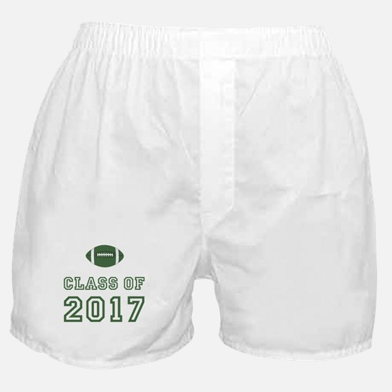 Class Of 2017 Football Boxer Shorts