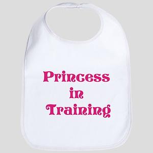 Princess in training bib