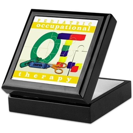 Pediatric Occupational Therapy Keepsake Box