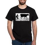 Ski Iowa Black T-Shirt