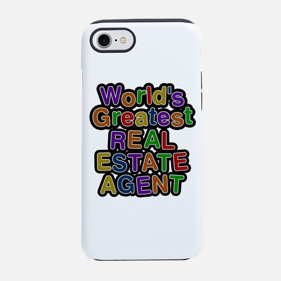 World's Greatest REAL ESTATE AGENT iPhone 7 Tough