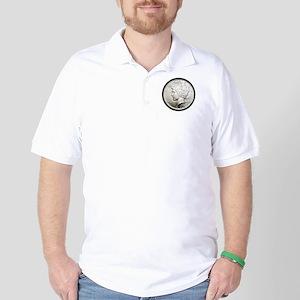 Peace Dollar Golf Shirt