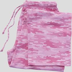 Pink Camo Pajama Bottom
