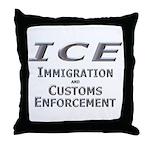 ICE 1 Throw Pillow