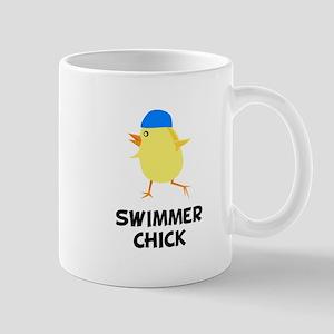 Swimmer Chick Mug