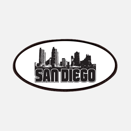 San Diego Skyline Patches