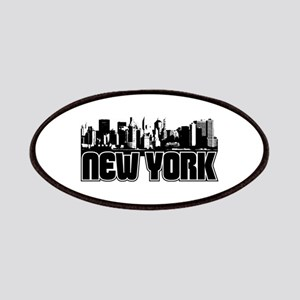 New York Skyline Patches