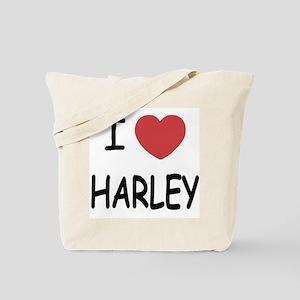 I heart harley Tote Bag