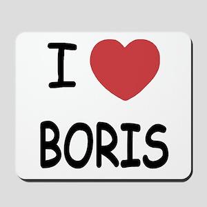 I heart boris Mousepad