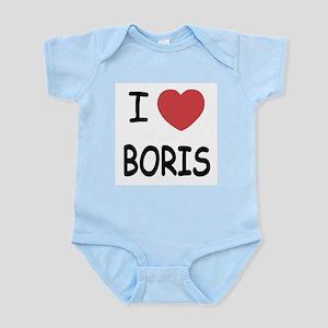 I heart boris Infant Bodysuit