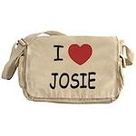 I heart josie Messenger Bag