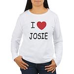 I heart josie Women's Long Sleeve T-Shirt