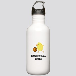 Basketball Chick Stainless Water Bottle 1.0L