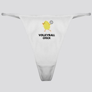 Volleyball Chick Classic Thong