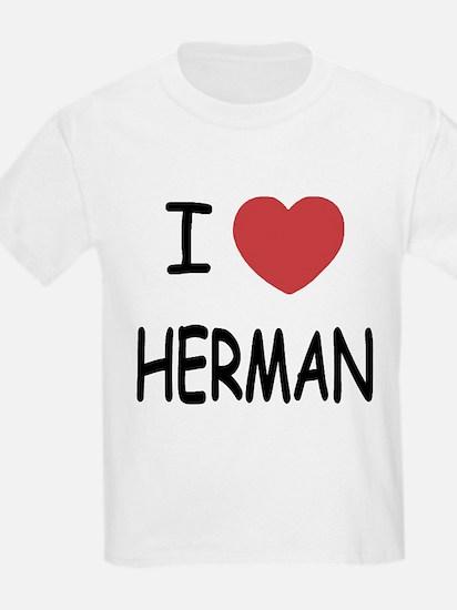 I heart herman T-Shirt