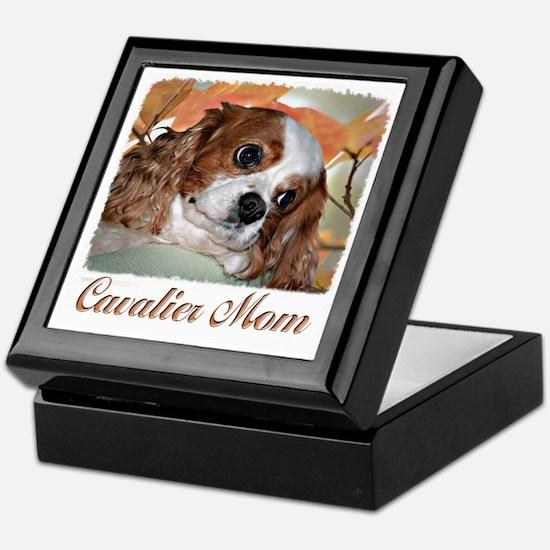 Cavalier Mom Keepsake Box