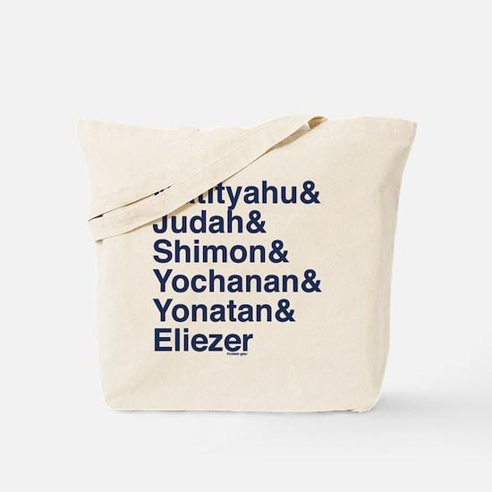 Maccabee Names Tote Bag