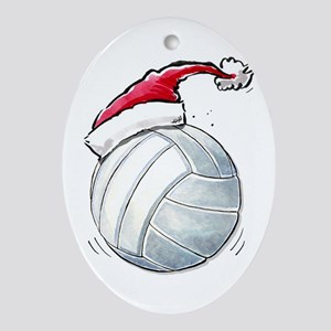 Volleyball Christmas Ornaments - CafePress