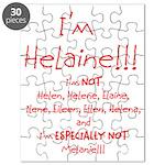 I'm Helaine Puzzle