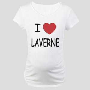 I heart laverne Maternity T-Shirt