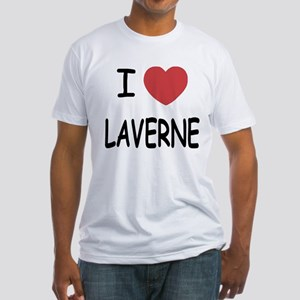 I heart laverne Fitted T-Shirt