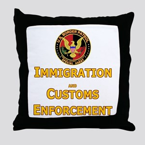 ICE 3 BPatrol  Throw Pillow