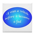 Witch Pride Tile Coaster