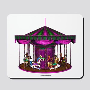 The Purple Carousel Mousepad