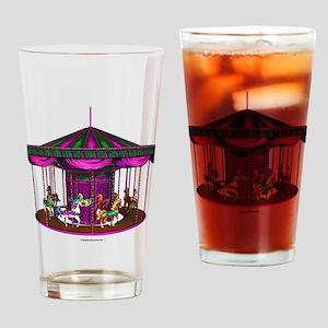 The Purple Carousel Drinking Glass