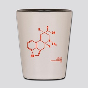 LSD Molecule - Label Shot Glass