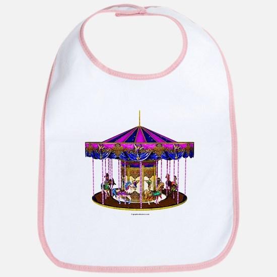 The Pink Carousel Bib