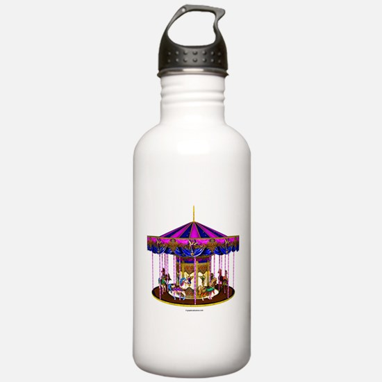 The Pink Carousel Water Bottle