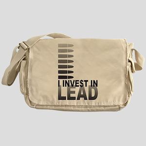I Invest In Lead Messenger Bag